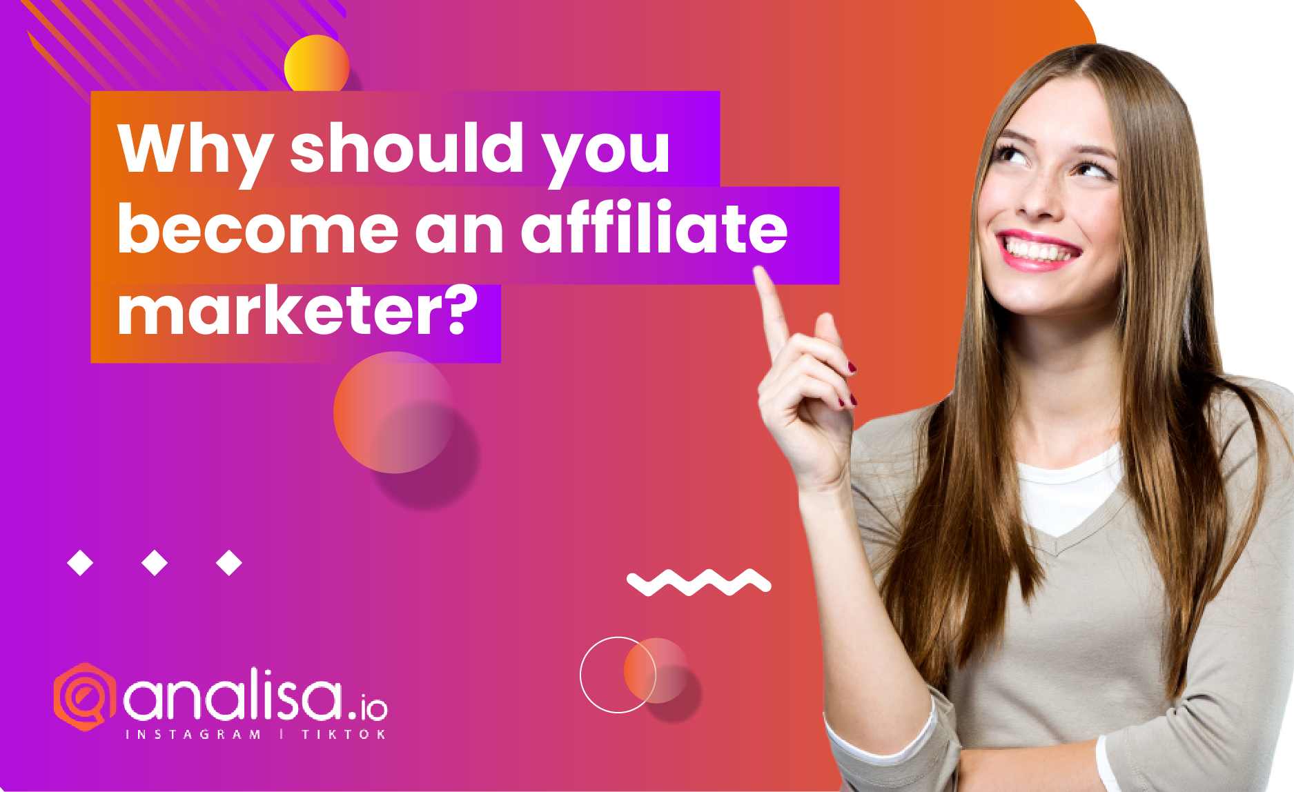 why should you become an affiliate marketer